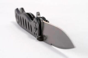 Here is a folding knife that is a viable option as a hunting knife.