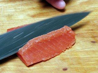 chisel ground sushi knife