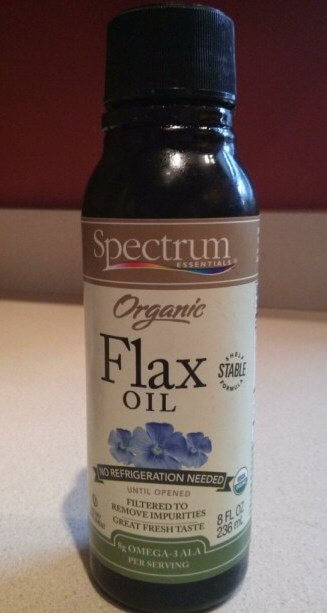 Flax Oil: This guy cost $9 at the grocery store!