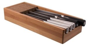 KnifeDock: Bamboo In-Drawer Knife Block Review