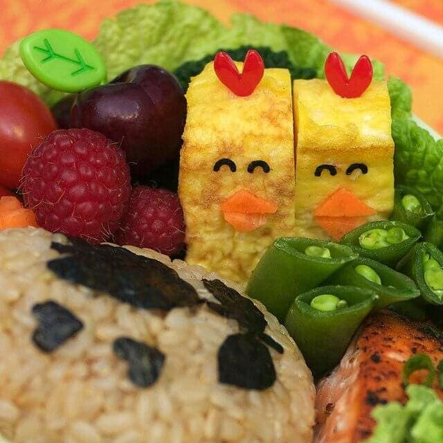 Bento art is a cute way to brighten your toddler's day!