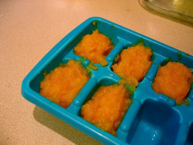 Ice cube molds are perfectly-sized for portion control.