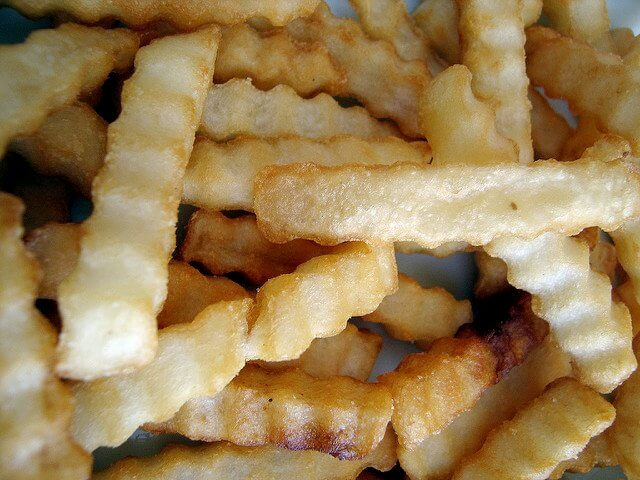 """French fries are a """"sometimes"""" food."""