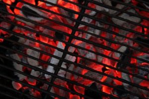 There's nothing quite as hypnotic as hot coals on the grill.