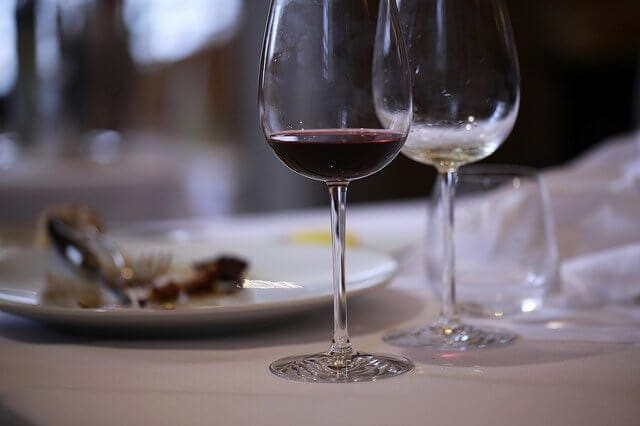 Those bottles of wine coming back to haunt you? Fill those glasses with water, instead!
