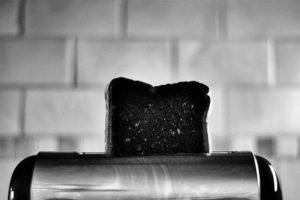 No one will ever have to know you burnt the toast!