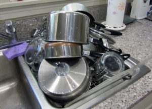 Which sponge will get your dirty stainless steel pots back to a mirror shine?