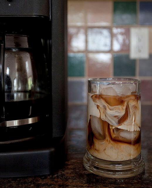 A clean coffee maker will brew a fine cup of Joe.