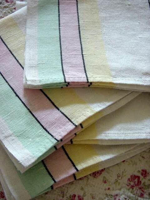 Properly-maintained, your kitchen towels will stay beautiful and functional for years.