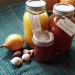 Canning your own sauce!