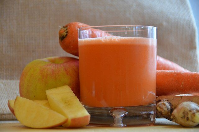 Carrots and apples and ginger, oh my!