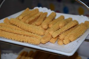 Cheese straws go great with soup and salad!