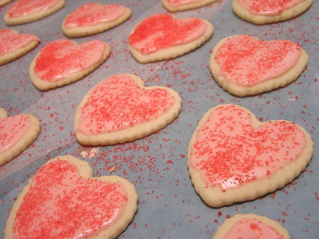 A rimless baking sheet is ideal for cookie making in convection ovens.