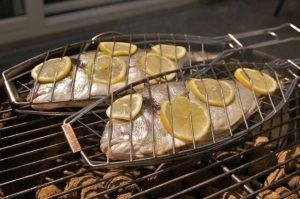 Basket for the perfect grilled fish