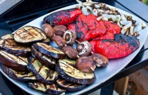 A great grill basket makes cooking veggies a cinch!