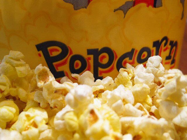 Yummy popcorn makes a great alternative to candy or other unhealthy snacks.