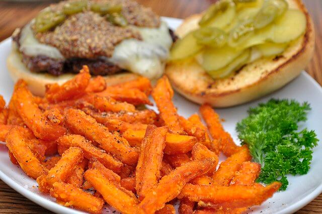 Sweet potatoes: bake 'em, fry 'em, put 'em in a stew. They'll always be delicious!