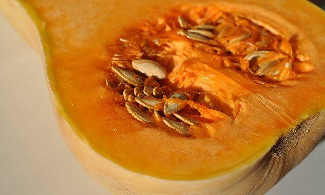 Butternut squash skin is technically edible, but it's tough and chewy.