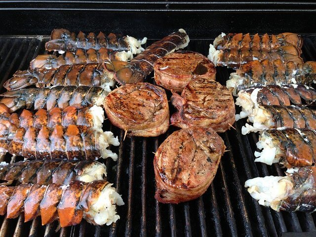 Who's up for some surf and turf?