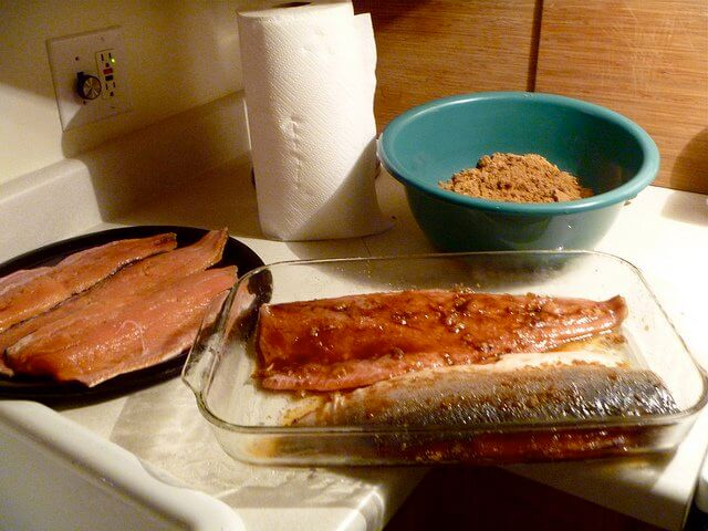 Make it your own! Brining salmon is a great opportunity for experimenting with new spice combinations!