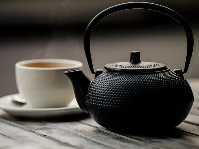 Loose leaf tea for one. One of my favorite things.