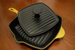 No time to fire up that grill? Go for a grill pan.
