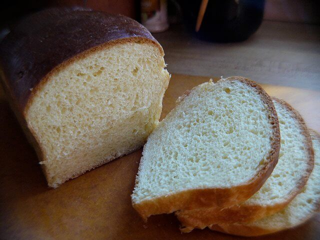 The humble bread slice. Great for de-hardening brown sugar!