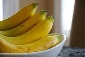 These bananas are perfect. If yours aren't, I'll show you how to ripen them!