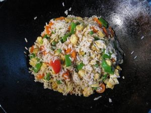 Think an electric wok is just for fried rice? Think again! But keep thinking about fried rice too because it's delicious.