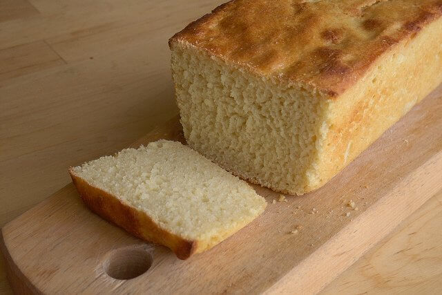 Gluten-free bread benefits from the moistness potato flour adds.