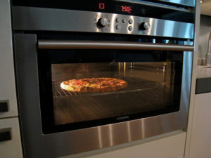Nothing better than a pizza cooked in a clean oven.