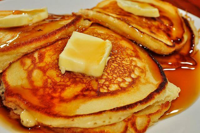 If there's no butter on my pancakes, I don't see the point.