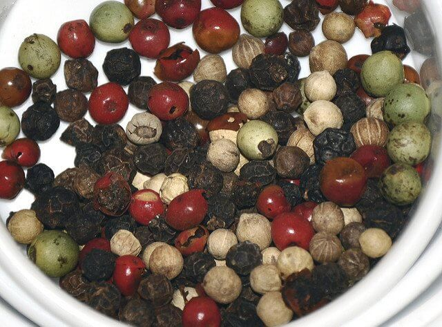 If peppercorns were still money, we'd be swimming in riches.