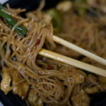 Chopsticks are a great alternative to a fork and knife for certain foods!