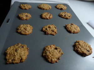 Bake all kinds of cookies - from oatmeal to sugar to chocolate chip - on a sturdy baking sheet.