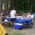 Taking a cooler along on your camping trip can save time and money.