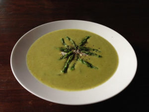 A creamy soup is best made with the best immersion blender.