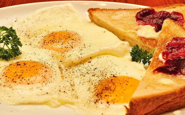 This breakfast is ready to make your day start out excellent.