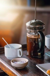 french press for course coffee grinds