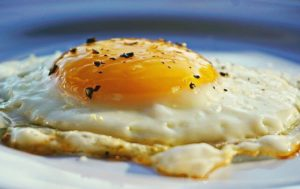 A perfectly fried egg. The only way to get it is with the right spatula.
