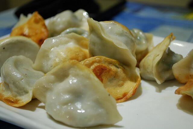 After steaming them, pan fry your wontons to make them taste like they came from your favorite restaurant.