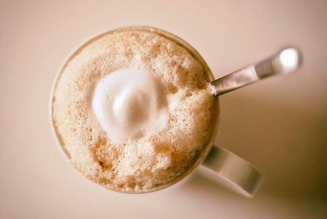 Who ordered the coffee with extra froth? You did!