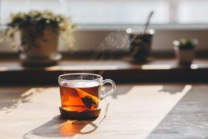 Tea for one is easy with a tea kettle for one.