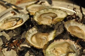 Have a mountain of oysters to shuck? It helps to have a good oyster knife.