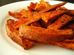 To make perfect sweet potato fries, you need a good mandaline.