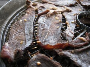 Make mouth-watering beef jerky at home.