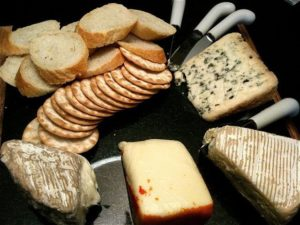 Easy entertaining. A simple cheese board looks attractive — and tastes great!