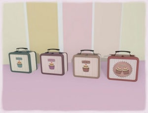 four lunch boxes
