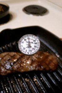 Keep your meat tender and safe to eat with a wireless meat thermometer.