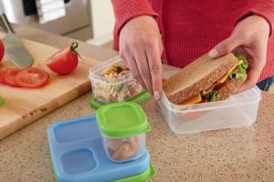 lunch containers for all your snacks and goodies.